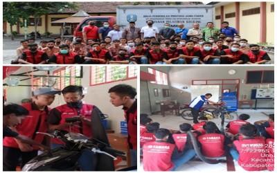 Pelatihan dan Bimtek Program Keahlian Teknik dan Bisnis Sepeda Motor SMK Negeri 1 Kendit