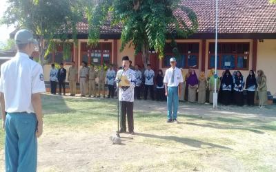 Upacara Bendera, Memperingati Hari Guru Nasional Tahun 2019