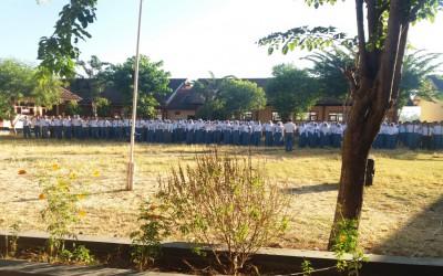 Apel Pertama di Tahun Ajaran 2019/2020 SMK Negeri 1 Kendit