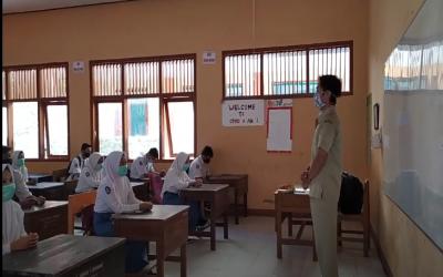 SMK Negeri 1 Kendit Memulai Pembelajaran Tatap Muka (PTM)