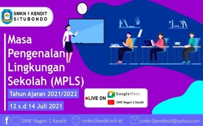 Masa Pengenalan Lingkungan Sekolah (MPLS) Tahun Pelajaran 2021/2022